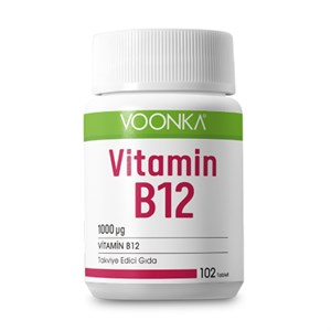 Voonka B12 Vitamini 102 Tablet
