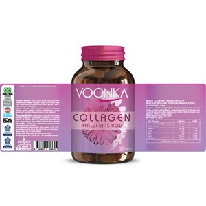 Voonka Beauty Collagen Hyaluronic Acid 32 Tablet